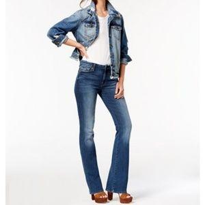 7 FAMK Kimmie Boot cut Jeans EUC
